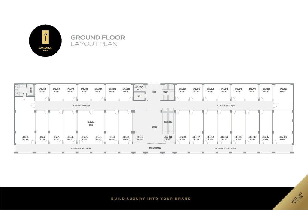 ground-floor-plan-Jasmine-Mall-2-Bahria-Town-Lahore