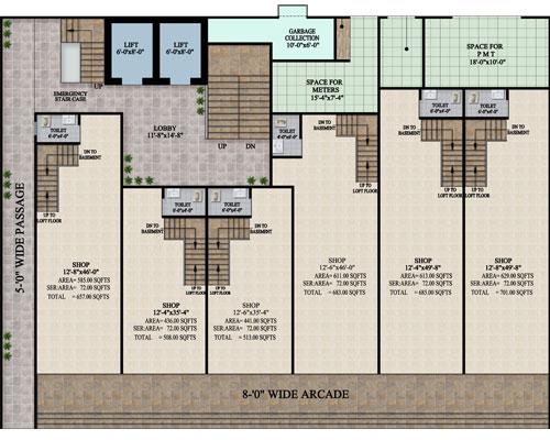 GROUND-Layout-plan-The-HL-Jinnah-Residencia