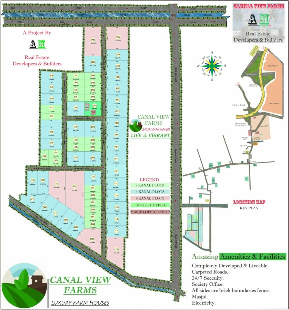 Layout-Plan-Canal-View-Farms-Lahore