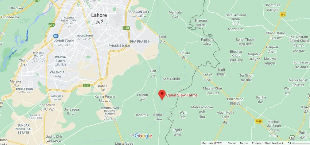 ATTACHMENT DETAILS  Location-Canal-View-Farms-Lahore
