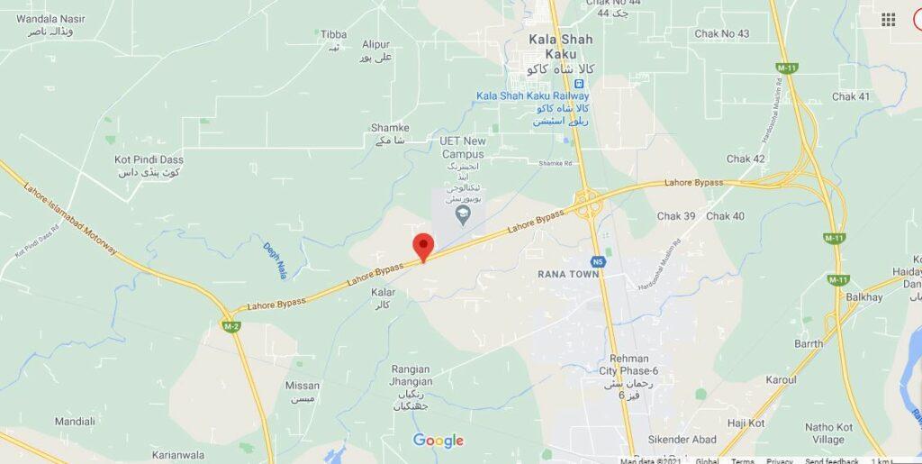 Location-Map-Iqbal-Garden-Lahore