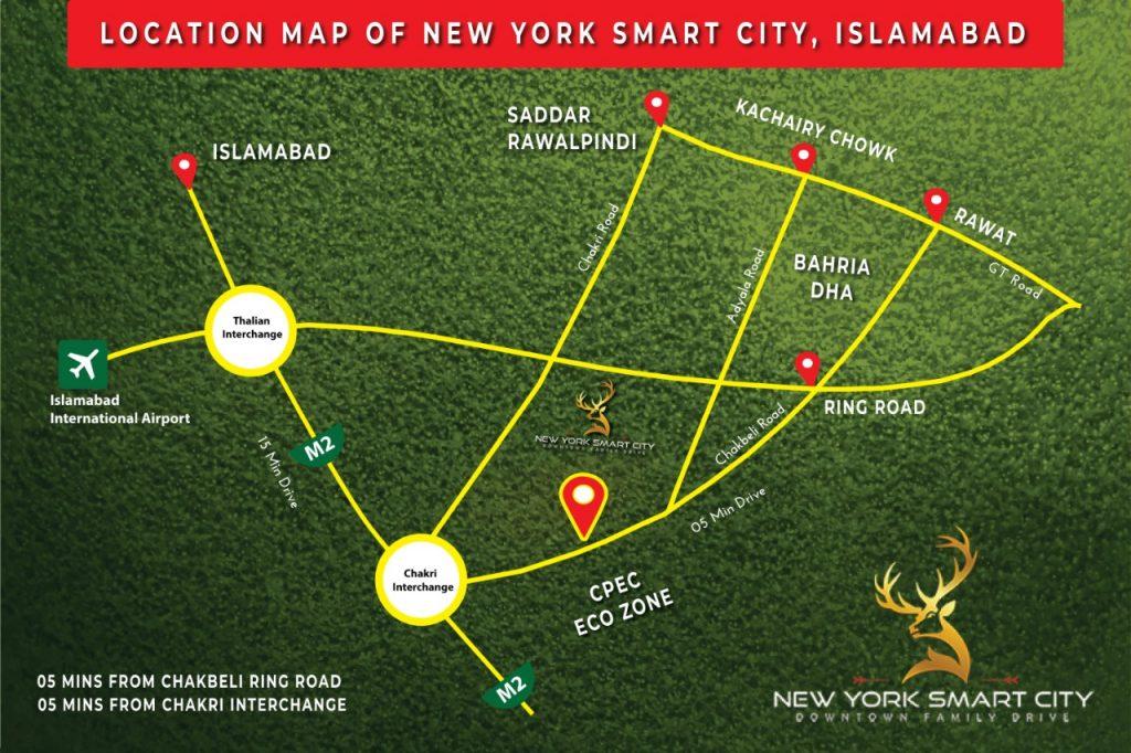 Location-Map-New-York-Smart-City-Islamabad