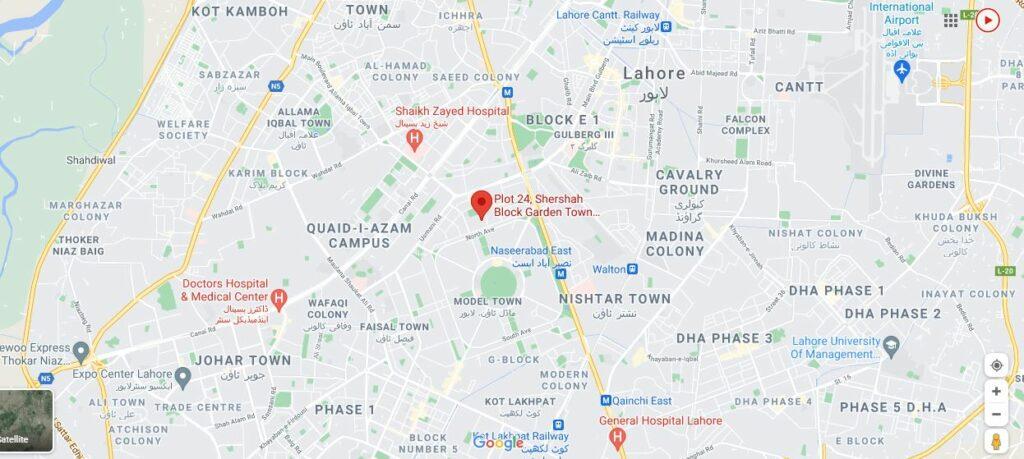 Location-Map-Park-House-Apartments-Lahore