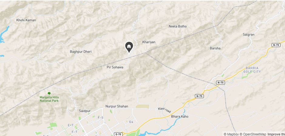 Location-Map-Whispering-Pines-Islamabad