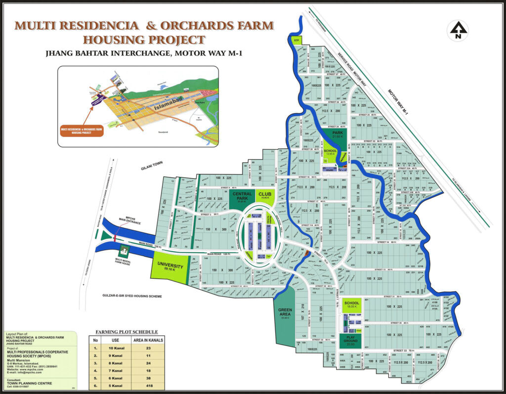 Master-Plan-Farm-Houses-MPCHS-multi-residencia-orchards-Islamabad