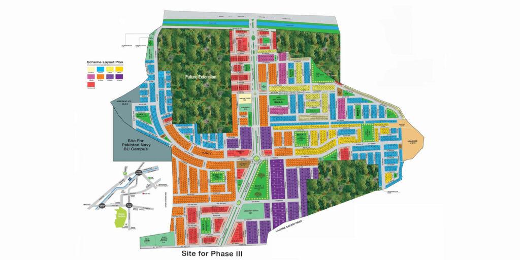 Master-Plan-Map-Dream-Gardens-Lahore-Phase-2