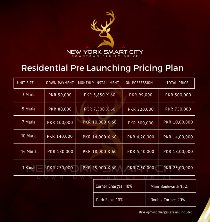Residential-plot-payment-plan-New-York-Smart-City-Islamabad