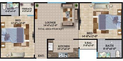 TYPE-B-2-BED-apartment-Layout-plan-The-HL-Jinnah-Residencia