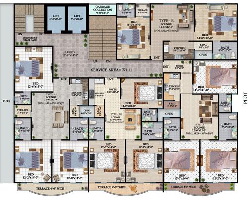 apartment-Layout-plan-The-HL-Jinnah-Residencia
