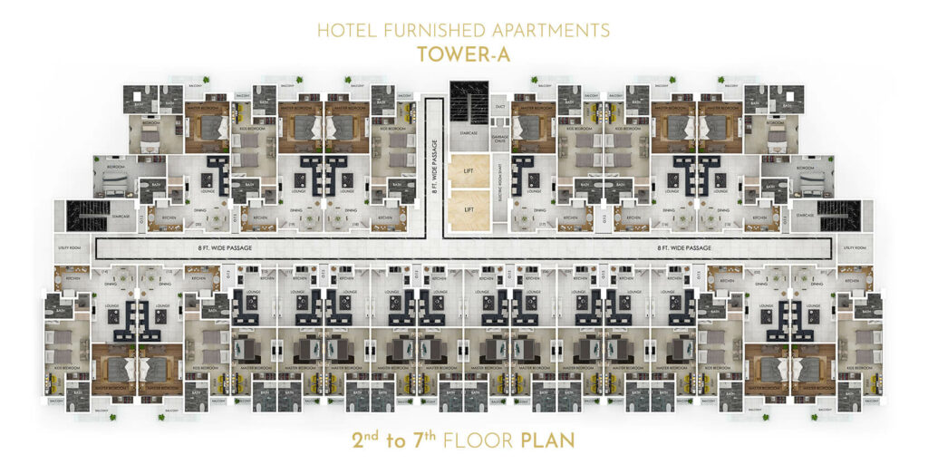 first-tower-2-to-7-floor-plan-grand-millennium-Bahria-Town-islamabad