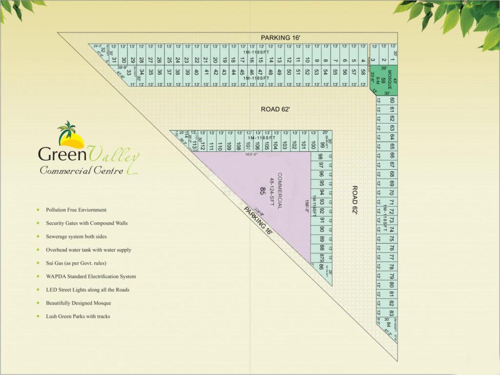 Master Plan Green Valley Commercial Center