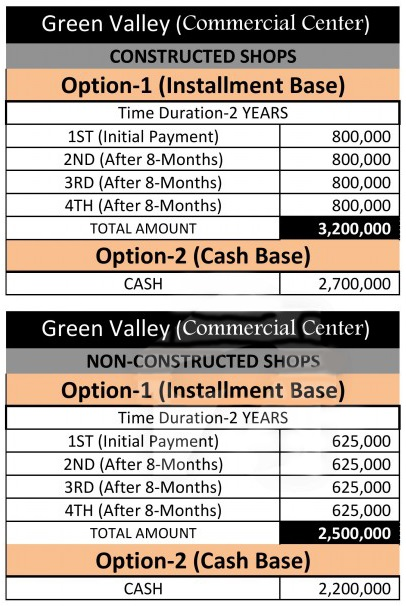 Payment-Plan-Green-Valley-Commercial-Center