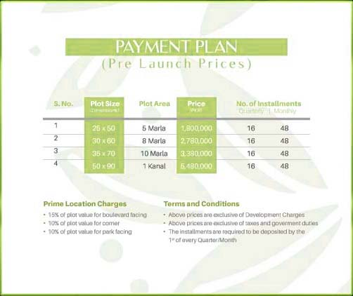 payment-plan-Discovery-Gardens-islamabad