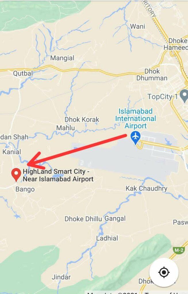 Location-High-Land-Smart-City-Islamabad