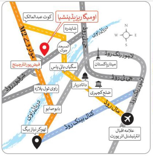 ATTACHMENT DETAILS  Location-map-OMEGA-RESEDENCIA-Lahore