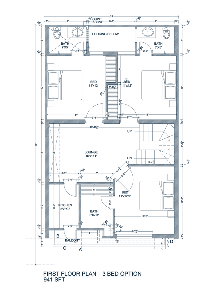 5-marla-home-First-floor-map