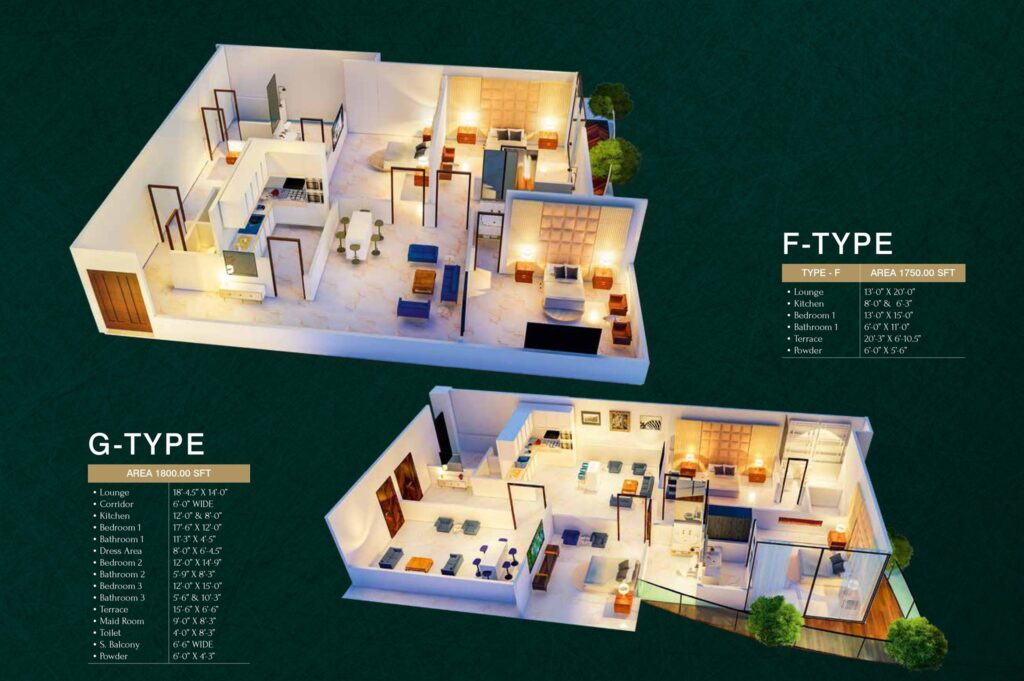 FG-Type-floor-layout-plan-map-MIDTOWN-TOWERS