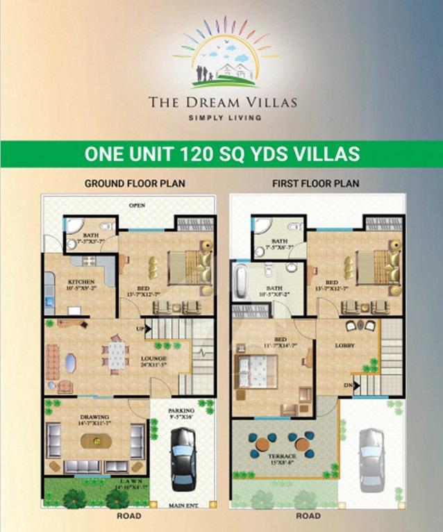 Floor-Plan-One-Unit-villaz-by-Falak-naz-dream-Villaz