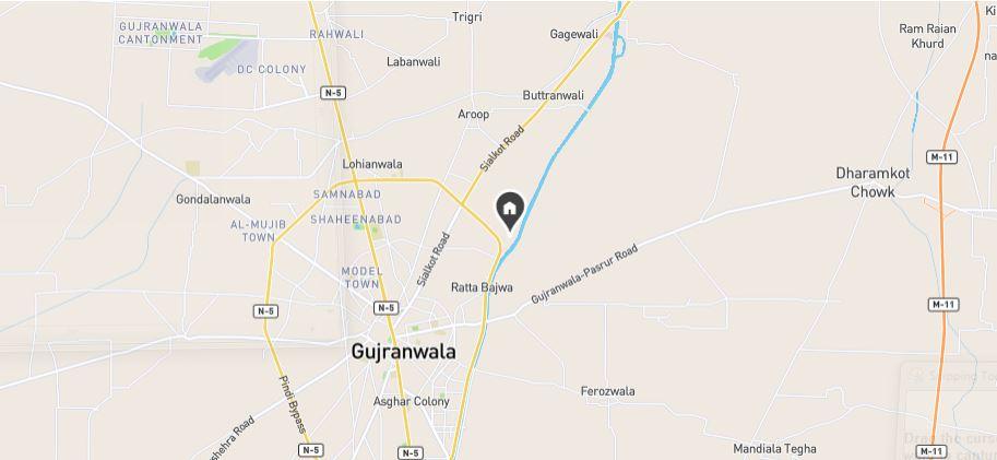 Location-Green-Valley-Housing-Scheme-Gujranwala
