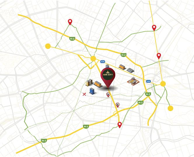 Location-map-ARK-City-Lahore