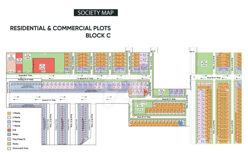 Master-Plan-Map-2-Orchard-Homes-Faisalabad