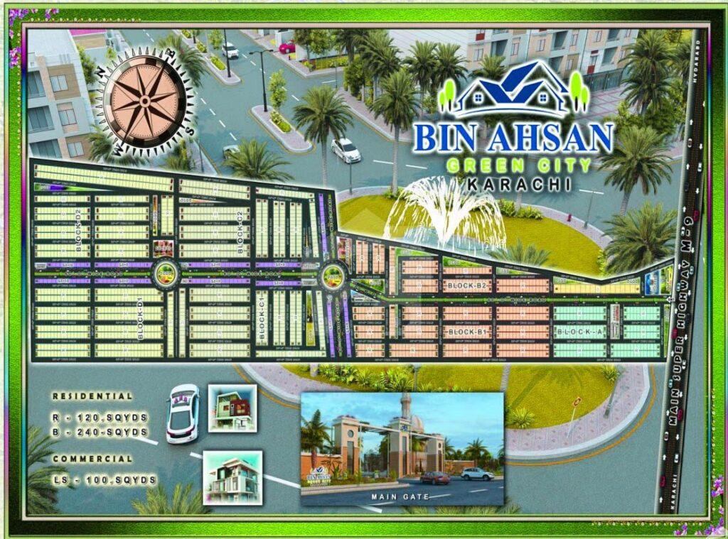 Master-Plan-Map-Bin-Ahsan-Green-City-Karachi