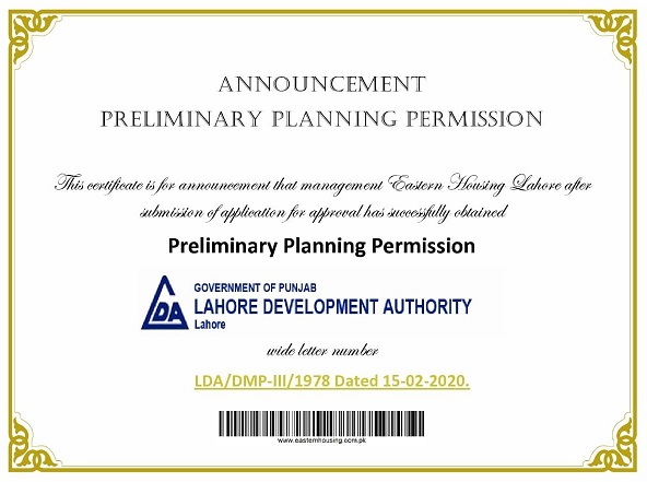 NOC-LDA-Approved-Eastern-Housing-Scheme-Lahore