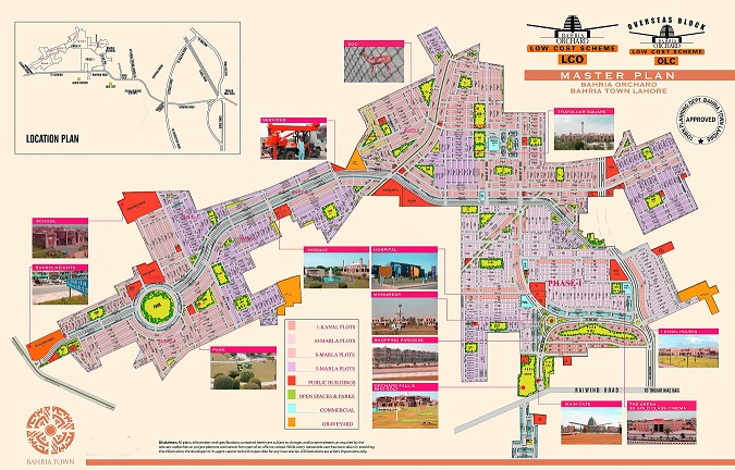 bahria-orchard-Lahore-master-plan
