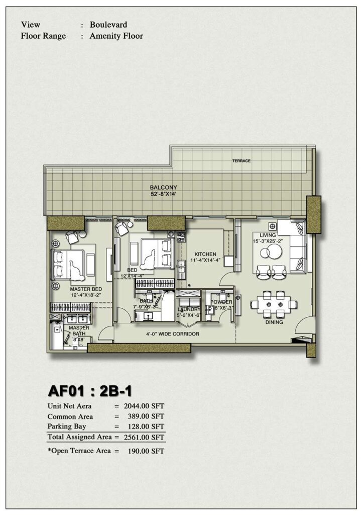 2-bedroom-layout-Plan-Map-1