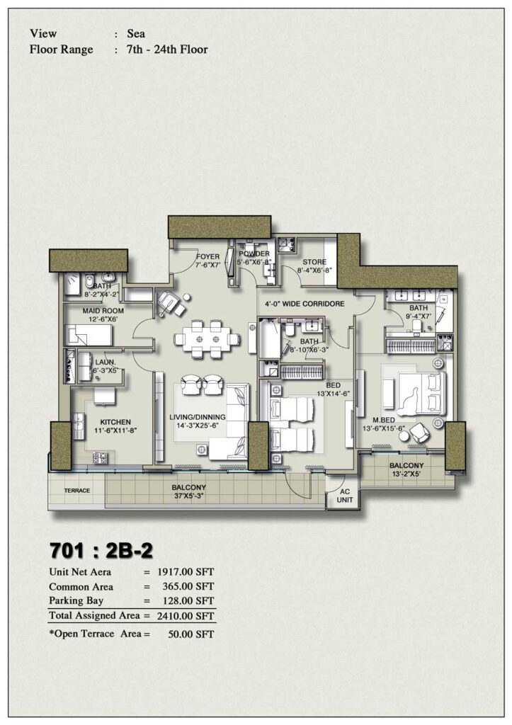 2-bedroom-layout-Plan-Map-2