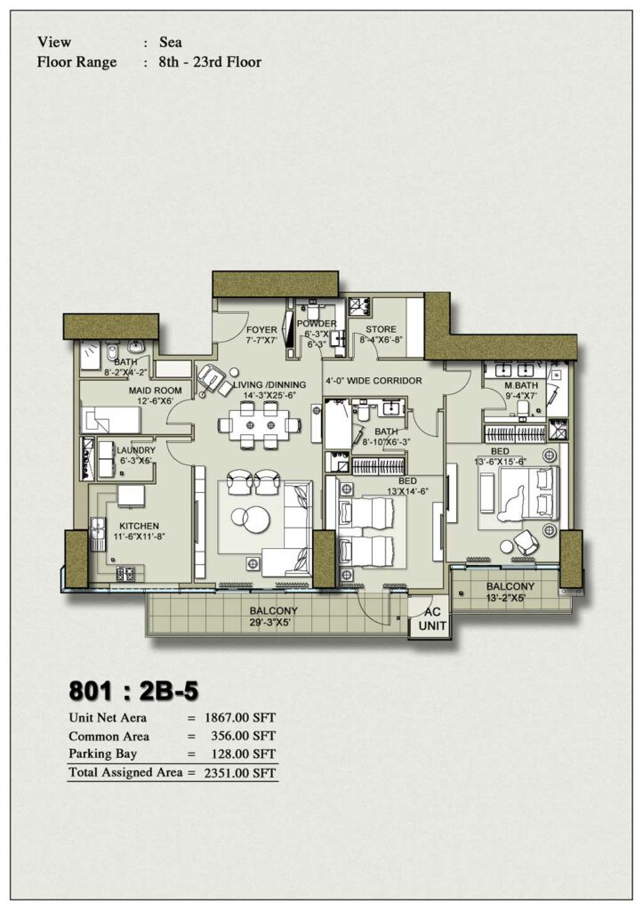 2-bedroom-layout-Plan-Map-5