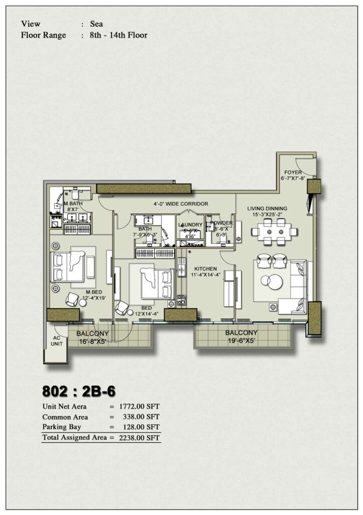 2-bedroom-layout-Plan-Map-6