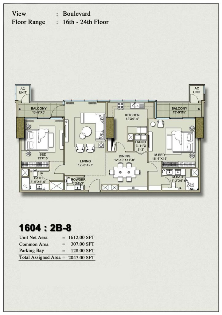 2-bedroom-layout-Plan-Map-8