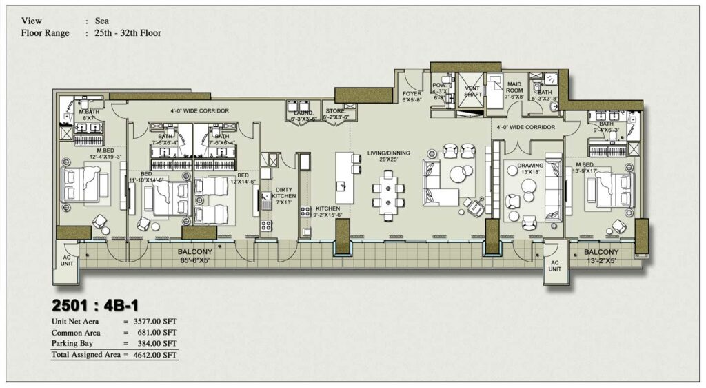4-bedroom-layout-Plan-Map-1