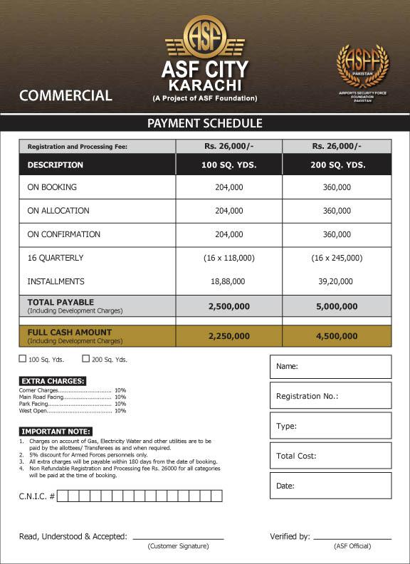 Commercial-Plots-Payment-Plan-ASF-City-Karachi