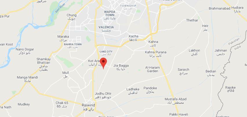 Location-Map-Al-Khalil-Garden-Lahore