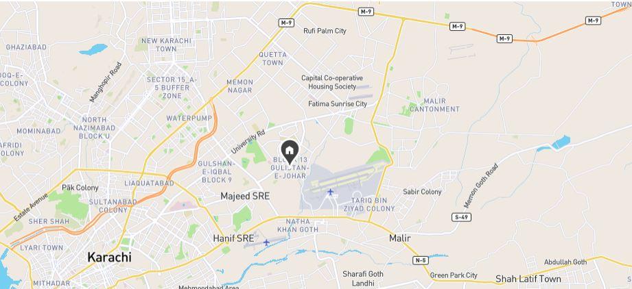 Location-Map-Dundas-Tower-karachi