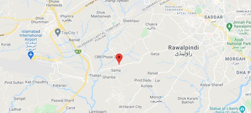 Location-Map-Silver-City-Islamabad