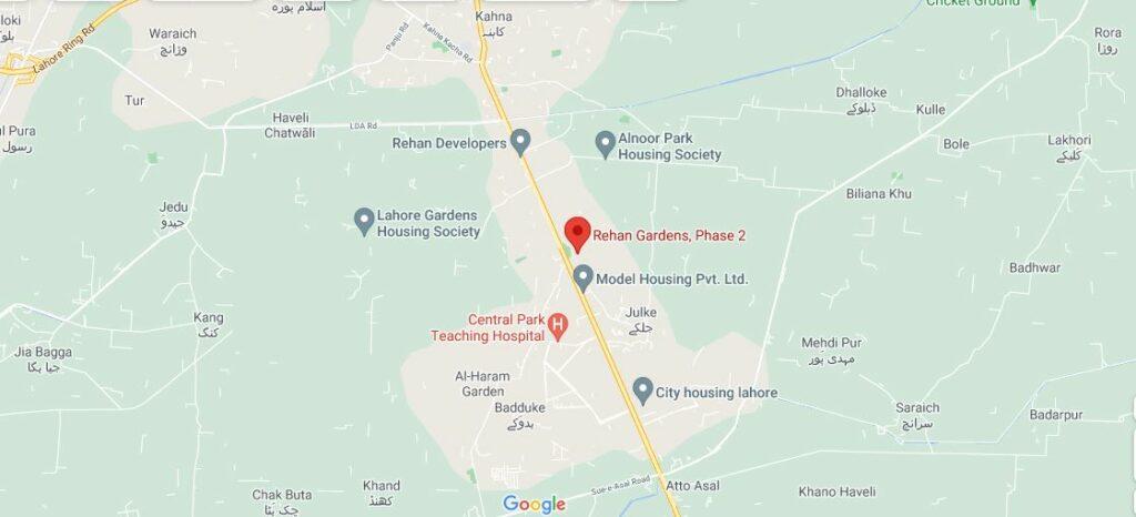 Location-Rehan-Garden-Phase-2
