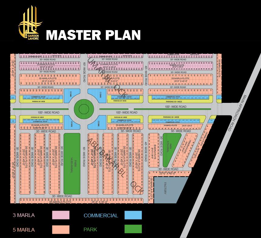 Master-Plan-Al-Khalil-Garden-Lahore