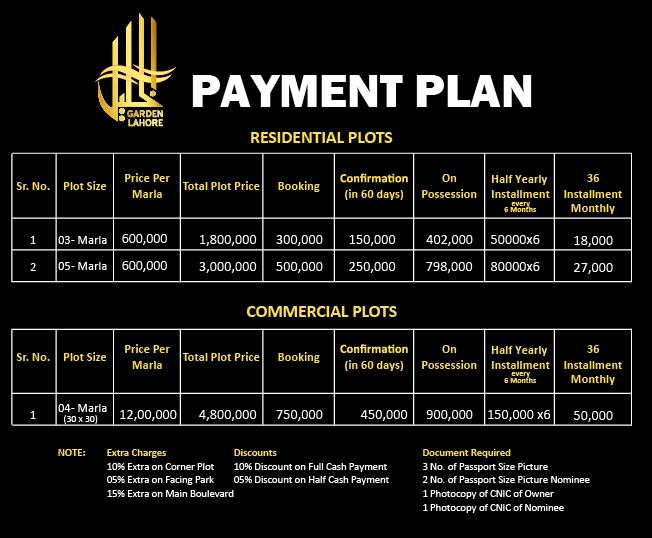 Payment-Plan-Al-Khalil-Garden-Lahore.