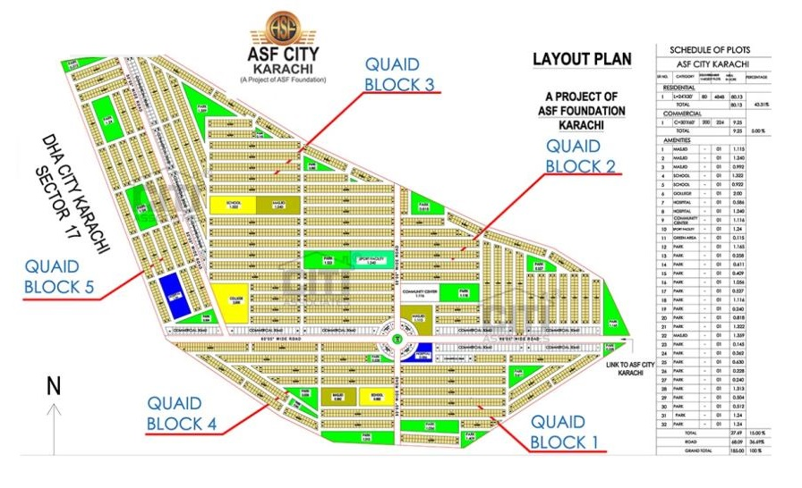 Quaid-Block-Master-Plan-ASF-City-Karachi