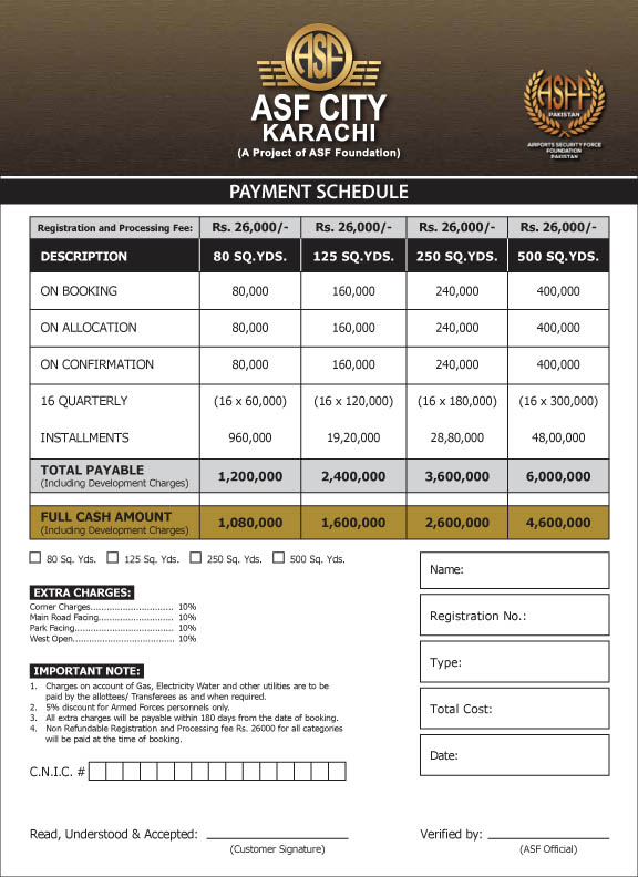 Residential-Plots-Payment-Plan-ASF-City-Karachi