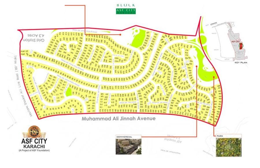 Soon-Block-Master-Plan-ASF-City-Karachi