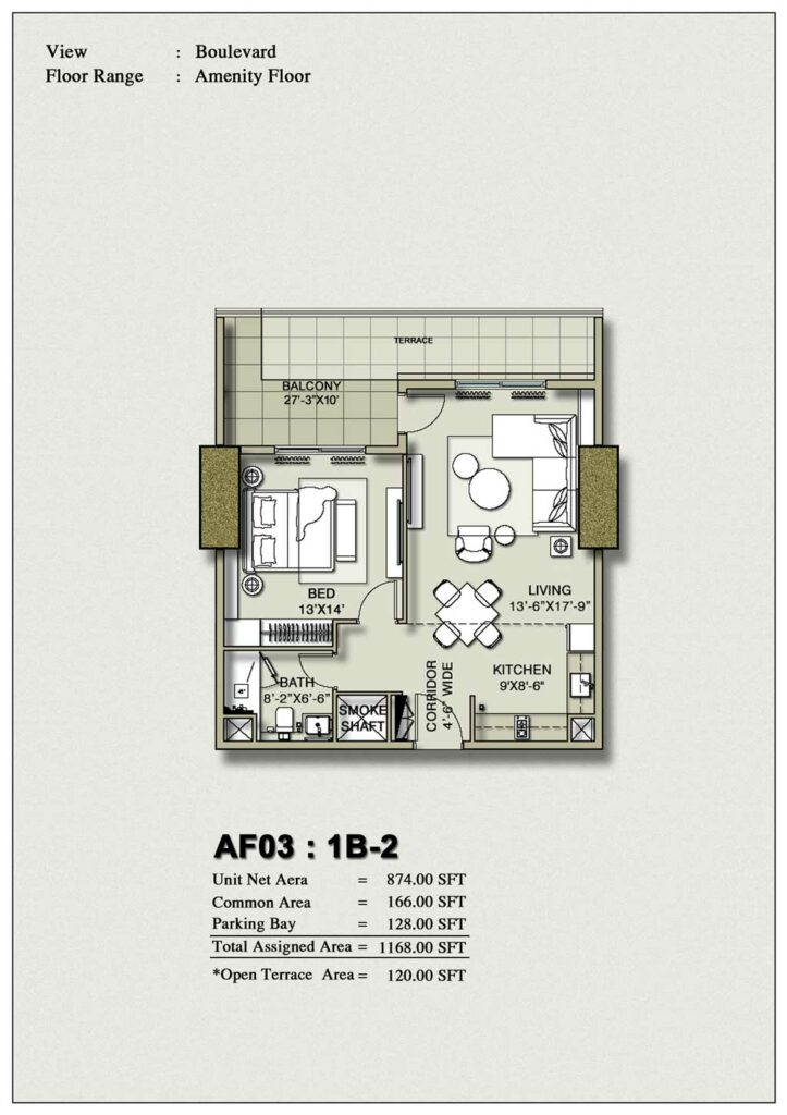 one-bedroom-layout-Plan-Map-2