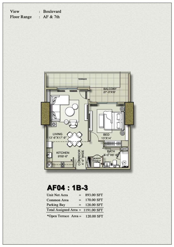one-bedroom-layout-Plan-Map-3