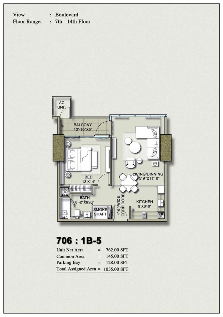 one-bedroom-layout-Plan-Map-5