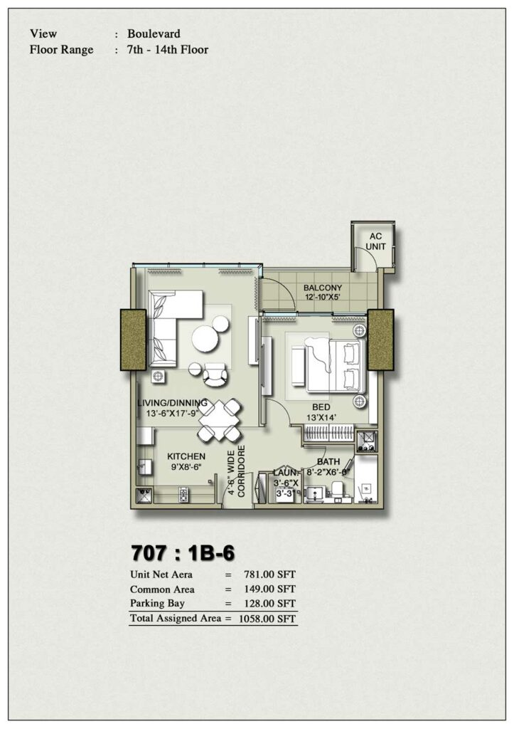 one-bedroom-layout-Plan-Map-6