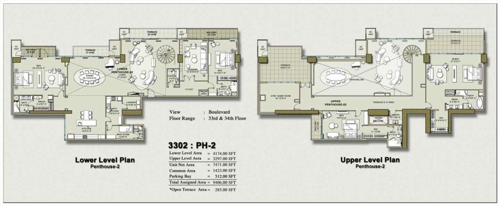 penthouse-layout-Plan-Map-1