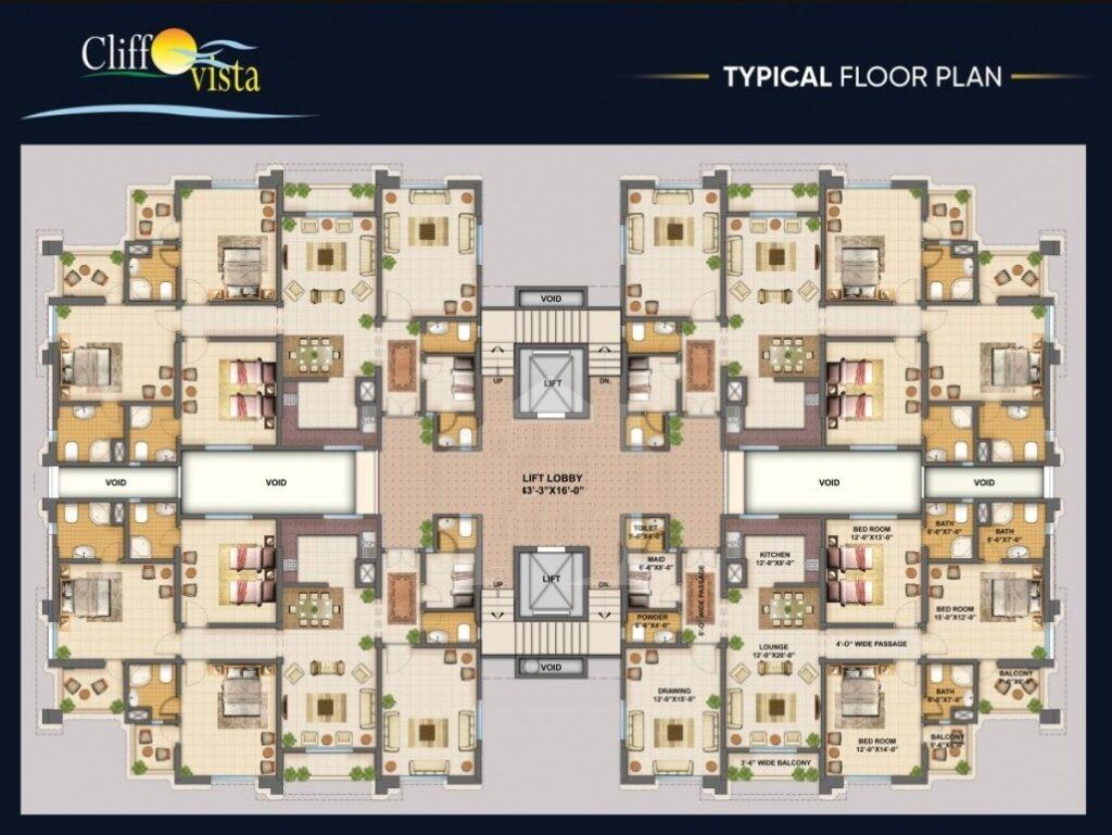 typical-floor-plan-cliff-vista-karachi